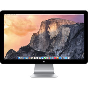 27 Apple Monitor with Tunderbolt : Cinema Display